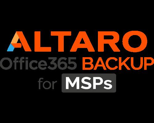 Altaro Office 365 Backup für MSP